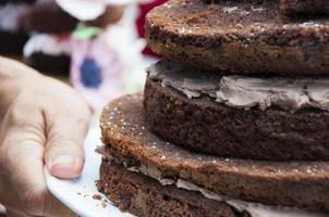 gâteau de fête. photo