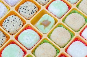 dessert mochi photo