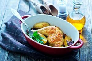cuisse de poulet frit
