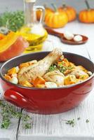 poulet cuit au potiron photo