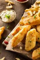fish and chips croustillant