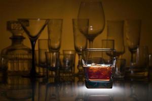 whisky avec de la glace