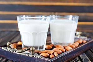 lait d'amande photo