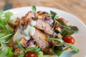 salade de crevettes crémeuse