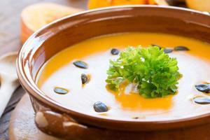 kürbissuppe photo