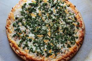 pizza au chou frisé photo