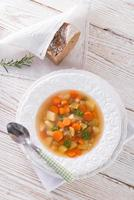 printemps avec soupe aux carottes photo