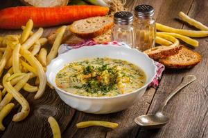 soupe aux légumes. photo