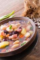 soupe de haricots