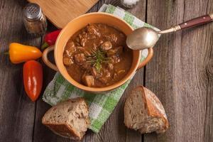 soupe de goulasch.