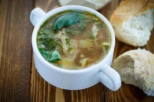 soupe aux cornichons