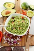 trempette au guacamole photo