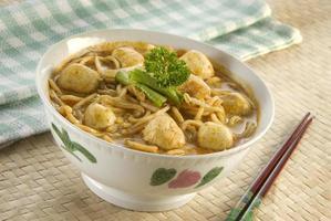 nouilles au curry laksa photo