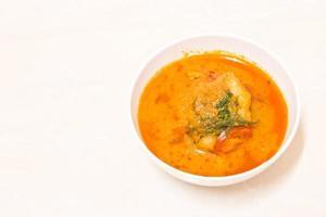 Curry au poisson