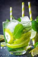 rafraîchissement au citron vert