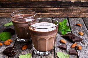 lait au chocolat photo