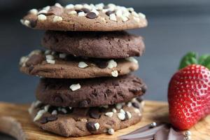 biscuits aux pépites de chocolat décadents