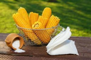 maïs cuit photo