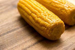 fond de cuisson de maïs photo