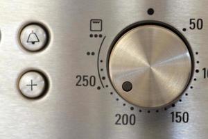 boutons de four de cuisson