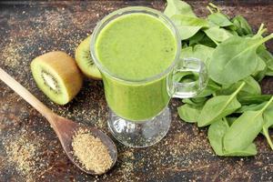 smoothie vert photo