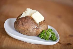 pomme de terre au four photo