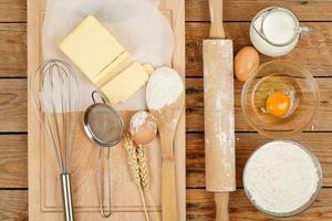 préparation de cuisson photo