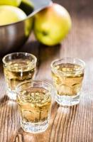 liqueur de pomme shot photo