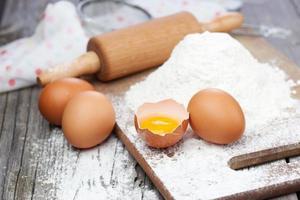 ingrédients pour la cuisson photo