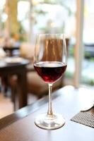 vin et jus de raisin. photo