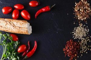 recette de menu du petit déjeuner aux épices photo