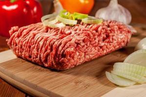 viande hachée photo