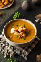 soupe de courge musquée chaude maison