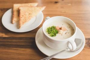 soupe à la crème photo