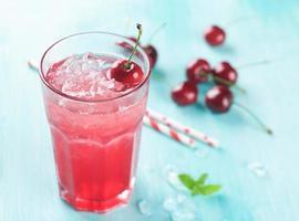 limonade aux cerises photo
