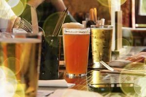 bière d'été à Londres photo