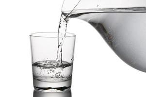 verre d'eau photo