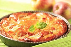 Gâteau éponge aux pommes