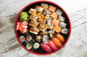 rouleau de sushi