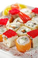 ensemble de sushi maki