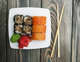 sushi japonais photo