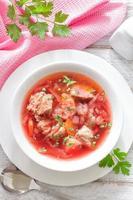 soupe aux betteraves photo
