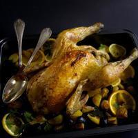 poulet rôti photo