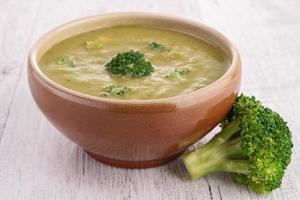 soupe aux brocolis photo