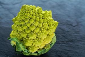 brocoli romanesco. photo