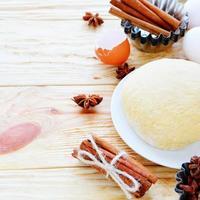 pâte et ingrédients