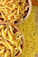 macaroni, spaghetti et pâtes
