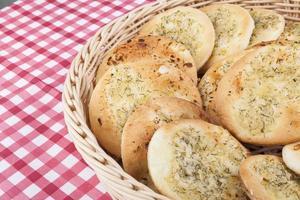 pain à l'ail photo