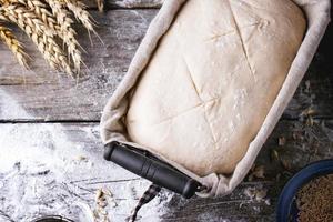 la cuisson du pain photo