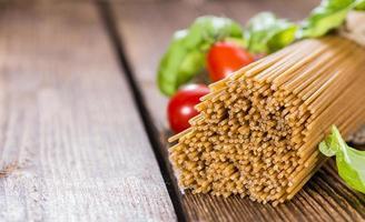 spaghetti complet photo